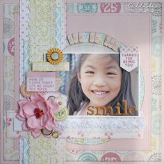 Callibee Scraps: Retreat Paper Reveal - My Mind's Eye The Sweetest Thing