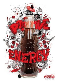 #cocacola #coke #typography