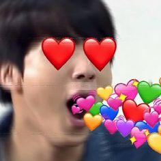 ✧・゚. daniwubdub ✧* All Meme Faces, Seokjin, Heart Meme, Cute Love Memes, Bts Reactions, Kpop, About Bts, I Love Bts, Wholesome Memes