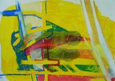 Helmut Heinze 2012 - ohne Titel a 3/ I Mischtechnik auf Papier, DIN A3 www.heinzeart.de