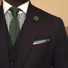 A | Curated | Man — Found one of my old @knotteryny lapel flowers and...