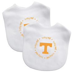 NCAA Tennessee Volunteers Baby Fanatic Bib Set - 2 Pack
