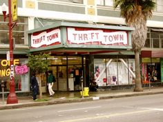 Thrift Town, Mission Street San Francisco.  Best thrift store ever.