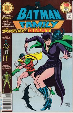 Batman Family 1975 1st Series 8  December 1976 by ViewObscura, $8.00