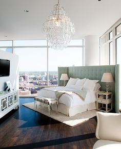 Can you imagine having this room with that view every morning you woke up?!