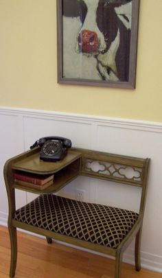 Gossip Bench-every family had one of these in the 50s, 60s