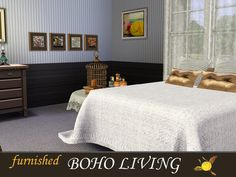 evi's Sims 3 Downloads Sims 3, Bed, Furniture, Home Decor, Decoration Home, Stream Bed, Room Decor, Home Furnishings, Beds