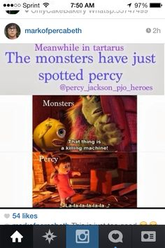 The most accurate pin of Percy EVER XD XD