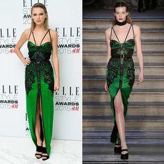 Pin for Later: Warum sollten die Stars auch bis zum Herbst warten? Taylor Swift bei den Elle Style Awards Designer: Julien Macdonald   Tage, die seit der Modenschau vergangen sind: 3