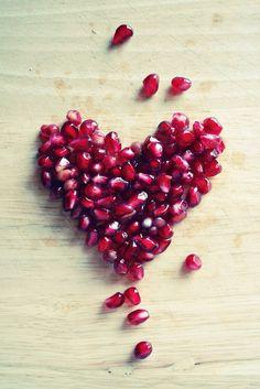 Pomegranate heart :)  #heart #soulmate #pomegranate