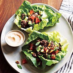 20-Minute Recipe: Crisp Lamb Lettuce Wraps | Shine Food - Yahoo! Shine