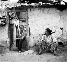 turkish gypsy couple, streets, old ankra, turkey