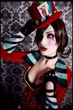 Mad Moxxi cosplay by Katy-Angel Borderlands Cosplay, Moxxi Cosplay, Halloween Makeup, Halloween Costumes, Halloween Halloween, Elizabeth Cosplay, Steampunk Cosplay, Rocky Horror, Geek Girls