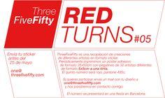ThreeFiveFifty REDTURNS #05 #red #stickers #design #art #ilustration #barcelona