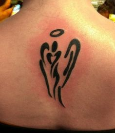 Simple Angel Tattoos Designs| Pictures| Gallery | Home Finance