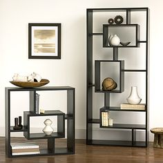 Modern Shelves --- these are my favorites!! #modern #shelves