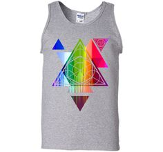 Becoming Rainbow Triangles Sacred Geometry 2017 T Shirt