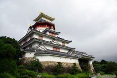 Japanese castles I've visited: #5 Azuchi Castle replica in Mie Prefecture. The original Azuchi Castle is in Shiga Prefecture - which I visited as well (see #6 next time).