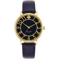 kate spade new york Enamel Cut-Out Metro Watch, 34mm