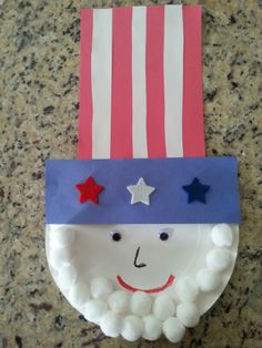 Fourth of July craft for any child.