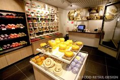 Cheese & More, Dutch cheese store in Amsterdam #food #retail #design