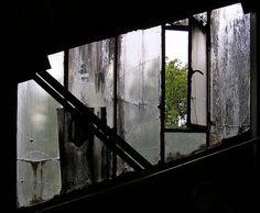 Fenster bei einem Förderband auf der stillgelegten Zeche Fürst Leopold, Dorsten-Hervest.    Windows at a convey at the abandoned coal mine Fürst Leopold, Dorsten-Hervest.    See where this picture was taken. [?]     Allergies? Odors? Pets? Purify the air you breath ...