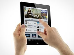 add a screenshot of your web site to an iPad or iPad Mini by designfix
