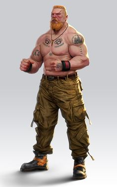 Character design for Dojokun board game done for CMON Street Wrestler