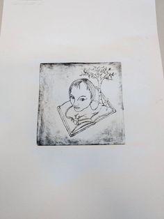 Etching print ( 2013 ) by Birgitte Miljeteig