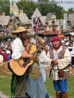 Villagers at the Minnesota Renaissance Festival