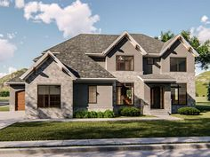 050H-0189: Two-Story Luxury House Plan