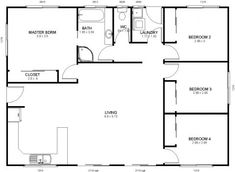 Wide range of kit home plans for the owner builder. Mecano kit homes makes construction simple with an easy to assemble high-tensile steel frame. Closet Bedroom, Kit Homes, Steel Frame, House Plans, Floor Plans, How To Plan, Sheds, Shed Houses, Garden Huts