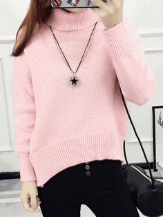 Sweaters Objective Fashion Women Autumn Long Sleeve V Lace Collar Slim Elegant Knit Sweater Casual Pullover Fashionable And Attractive Packages