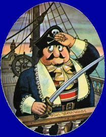 Captain Pugwash is a pirate who commands the ship the Black Pig. 1970s Childhood, My Childhood Memories, Old Tv Shows, Kids Shows, Kids Tv, Classic Cartoons, Baby Art, My Memory, Illustration