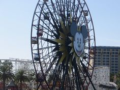 Who will be riding #Mickeys ferris wheel this weekend? #Disneyland