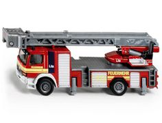 The 1/87 Fire Engine from the Siku Super Series - Discounts on all Siku Diecast Models at Wonderland Models.    One of our favourite models in the Siku Super Series 1/87 Scale range is the Siku Fire Engine.    Siku manufacture wonderful, amazingly accurate and detailed diecast models of all sorts of vehicles, particularly emergency services vehicles including this model of the Fire Engine which can be complemented by any of the items in the Super Series range.
