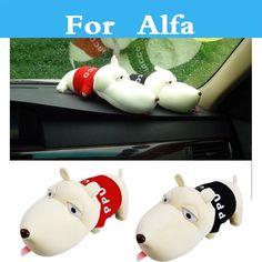 Funny Dog Doll Car Decor Purify Air Bamboo Charcoal Bag Adsorb Odor Deodorant For Alfa Romeo 4c 8c Brera 147 156 159 166 #Affiliate