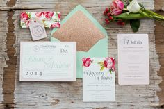 Lovely floral wedding invitations by Callie Beth Photo & Design for our Flower Girls Secret Garden Wedding Shoot Garden Wedding Invitations, Wedding Stationary, Wedding Shoot, Wedding Ideas, Secret Garden Parties, Garden Wedding Inspiration, Stationery Paper, Invitation Design, Special Day