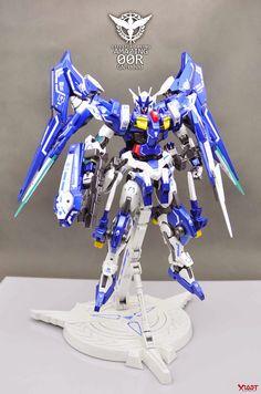 1/100 Amazing 00 Raiser - Custom Build     Modeled by 那一年这一载