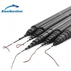 BlueSardine New Carp Fishing Pole Stream Hand Rod Telescopic Fishing Rod Carbon Fishing Tackle  4.5M 5.4M 6.3M 7.2M 8M