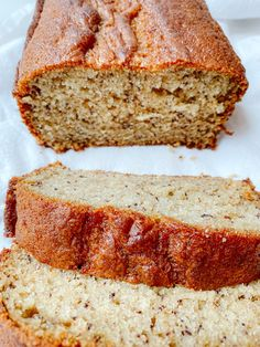 Sour Cream Banana Bread, Best Banana Bread, Banana Bread Recipes, Quick Healthy Breakfast, Pan Bread, How To Double A Recipe, Melted Butter, Food Porn, Baking