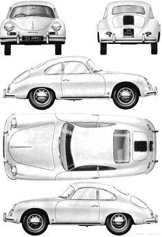 Porsche 356A 1600 1958