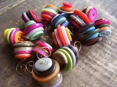 Cute Button Ornaments!