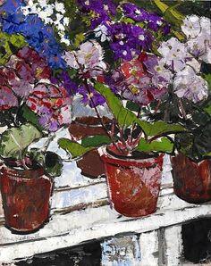 Anne Redpath, Flowers on ArtStack #anne-redpath #art