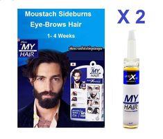 2 X MY HAIR AKIO LASH NATURE GROWTH My Hair Multi-Function Serum 14 ml #AKIO