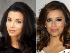 With the exception of a little more makeup these days, Eva Longoria looks strikingly similar to her '90s counterpart.