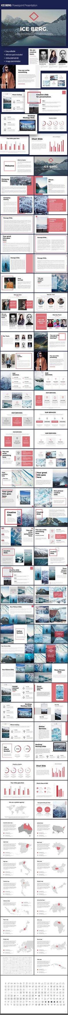 Ice Berg PowerPoint Templates Presentation Templates