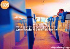 Tommorrowland Transit Authority - People Mover Magic Kingdom Tommorrowland Walt Disney World Disney World Magic Kingdom, Disney Magic, Walt Disney World, Disney Pixar, Disney Rides, Disney Love, Disney Stuff, Disney Travel, Disney Facts