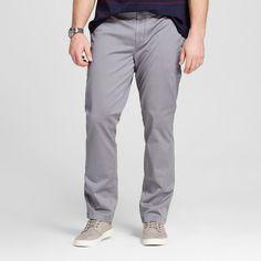 Men's Big Chino Pants Gray 58x32 - Merona