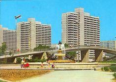 DDR postcard - Halle Neustadt
